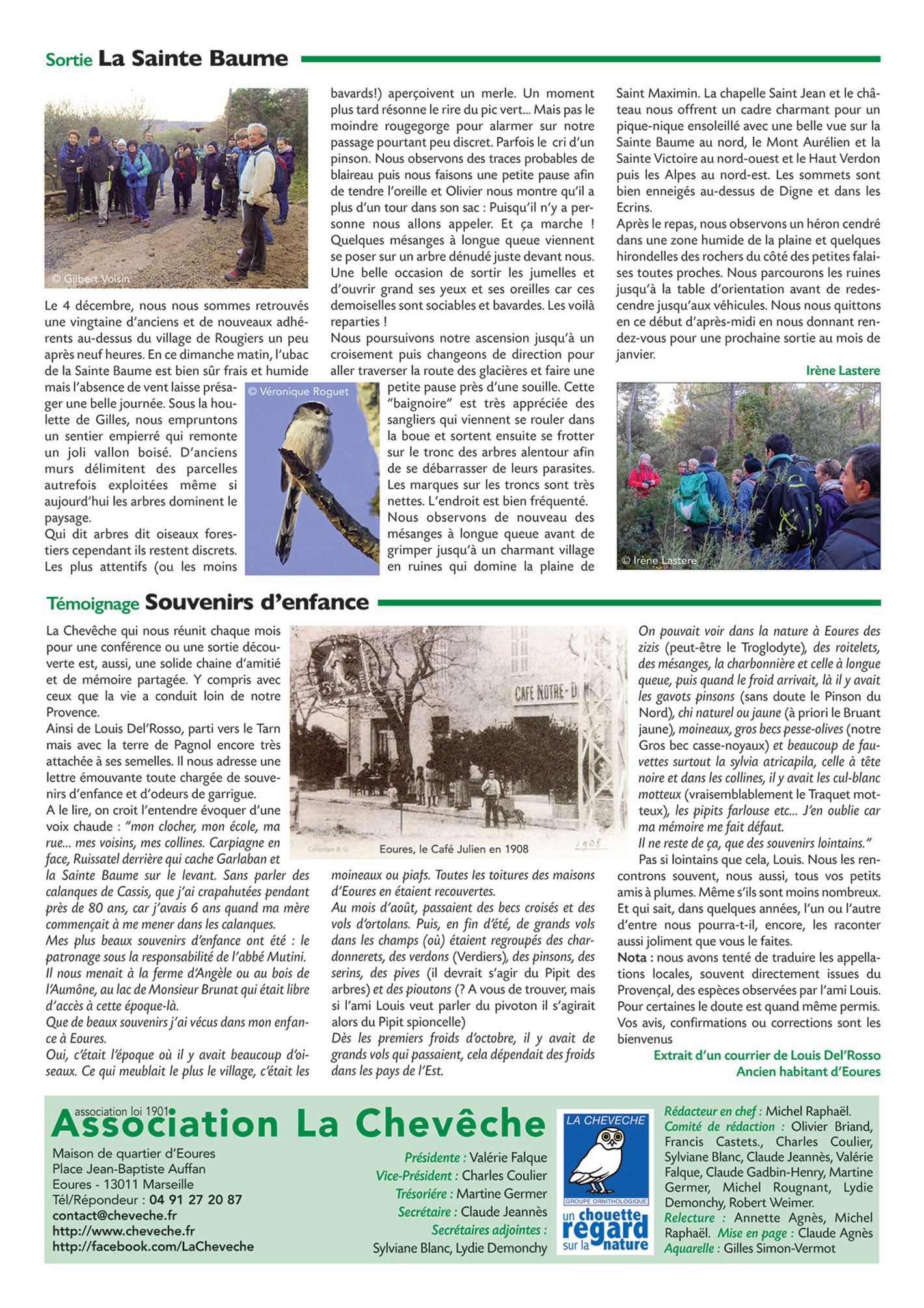 Bulletin n°128 mars-avril 2017